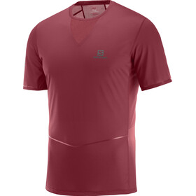 Salomon Sense Ultra Tee Herr biking red